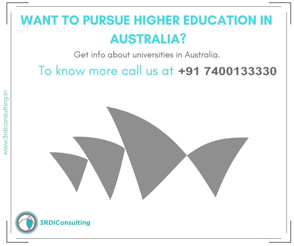 AUSTRALIA Higher education consulting Kavitta Mehtta