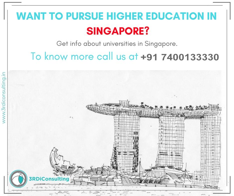 SINGAPORE Higher education consulting Kavitta Mehtta
