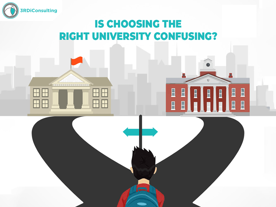 Select the right university 3rdIconsulting